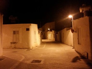 Mouttalos at night
