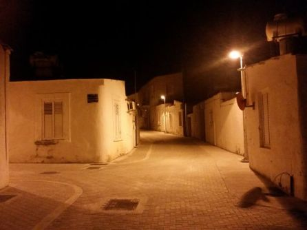 Mouttalos at night